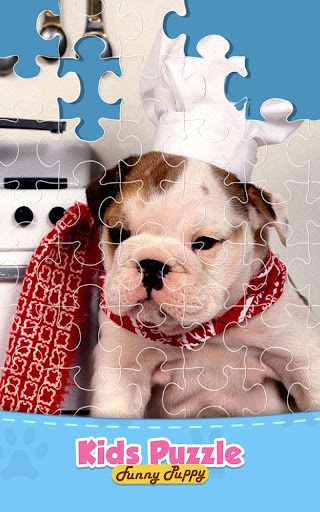 Pet Dog Jigsaw Puzzle Game