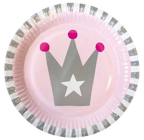 JaBaDaBaDo Tallrik 8-pack, Prinsessa