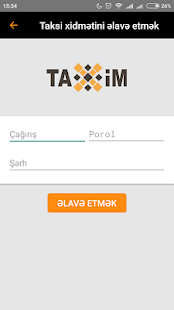 TaxiM Driver- screenshot thumbnail