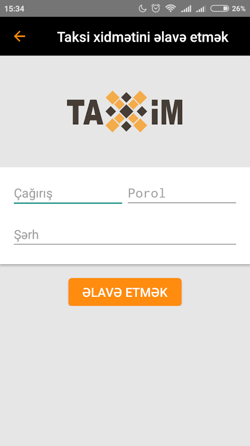 TaxiM Driver- screenshot