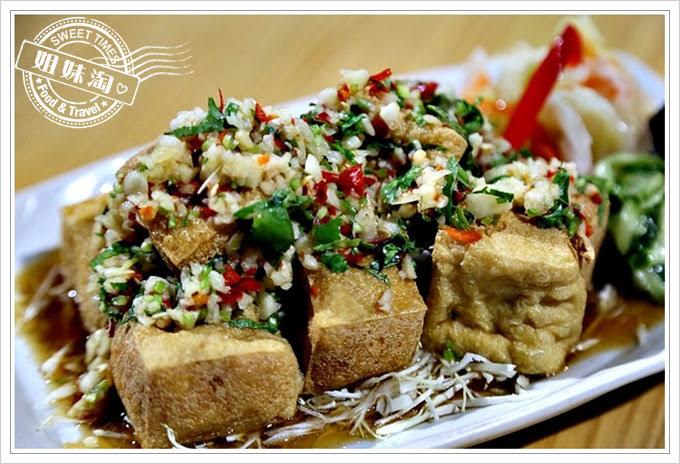 陳漢吉臭豆腐鍋燒餃子專賣泰式交麻雞臭豆腐