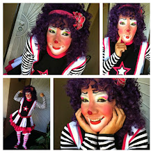 Photo: Look at how cute our Bibi the Clown is. She is not scary at all! Call to book Bibi today: 888-750-7024