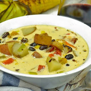 Black Bean & Roasted Corn Chowder.