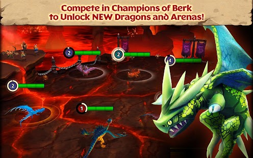 Dragons: Rise of Berk Screenshot