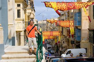 Photo: The streets of Valletta