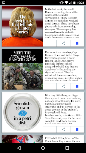 The Washington Post 1.11.4 screenshots 3