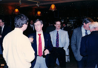 Photo: Paul Baker (partial), ?, Chris Frauley, Mike Fancy, Herb Dean, George Carscallen