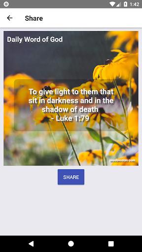 Daily Word of God - Lite 4.54.0 screenshots 4