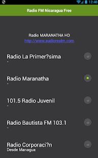 Rádio FM Nikaragua zdarma - náhled