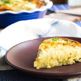 Mac 'n Cheese Impossible Pie.