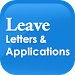 Leave Letters and Applications Icon