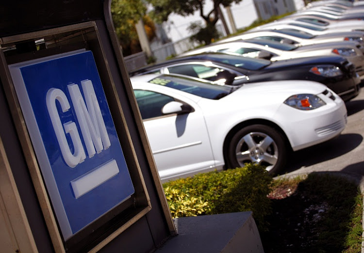 Chevrolet cars are seen at a General Motors dealership. Picture: REUTERS