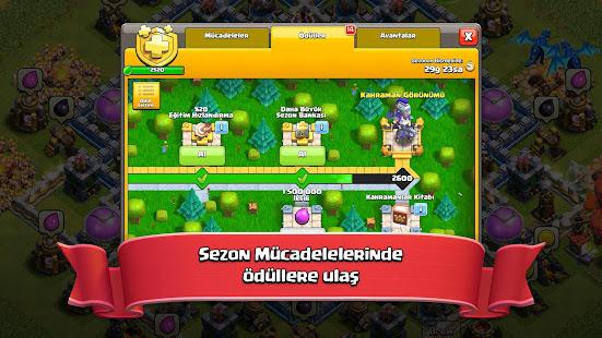 Clash of Clans hileli apk