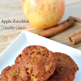 Apple Zucchini Healthy Snacks.