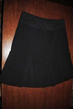 Photo: Black Skirt. Motherhood Maternity Size Large. $3