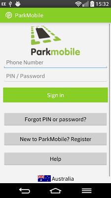 Parkmobile - screenshot