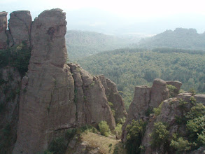 Photo: The fortress was nestled into a spectacular rock formation.
