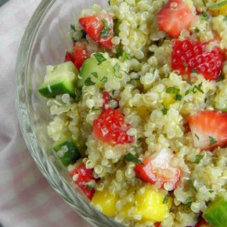 Strawberry-Mango Quinoa Salad