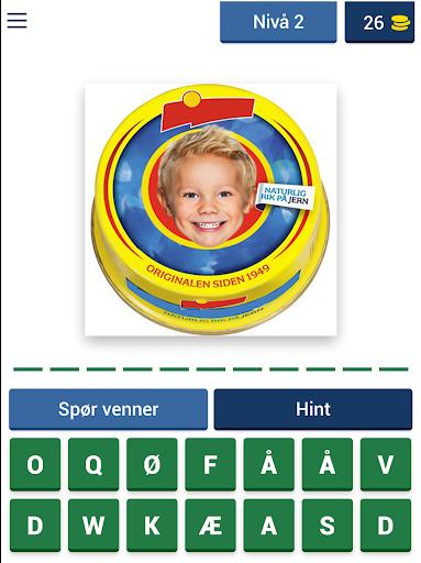 Norsk Mat Quiz: Gjett Kjente Matvarer fra Butikken apktram screenshots 8