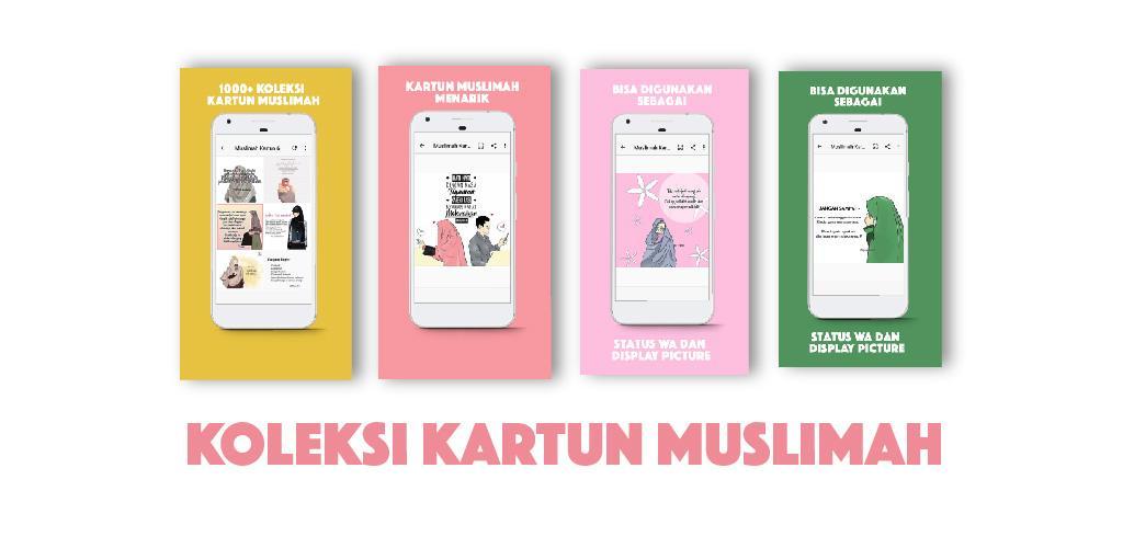 Muslimah Kartun Status Wa 10 Apk Download Comandromo