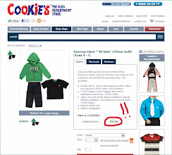 Photo: Usually brick and mortar stores carry a very limited selectin of boys' clothes, but Cookie's Kids had tons!