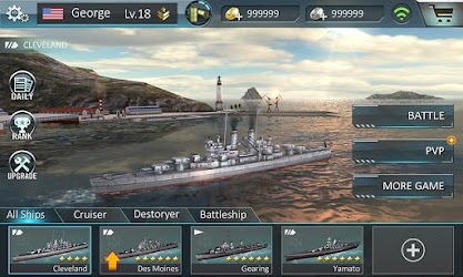 Warship Attack 3D 1.0.2 Apk (Unlimited Money) MOD 5