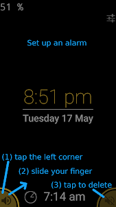 Night clock (Daydream clock) screenshot 2