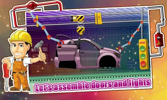 Car Factory & Maker Simulator screenshot