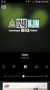 1240 WJIM - Lansing's Big Talker (WJIM-AM)- screenshot thumbnail