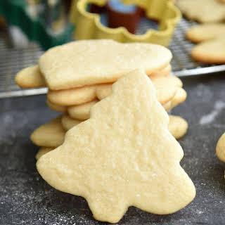 Cutout Sugar Cookies.