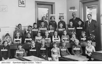 Photo: Klas 3  jn 1957