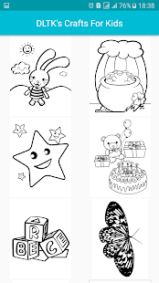 dltks crafts for kids screenshot thumbnail