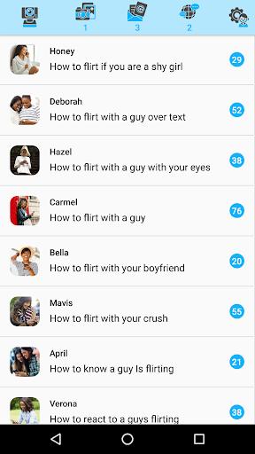flirt apps dating smartphone