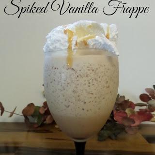 Kahlua Spiked Vanilla Frappe.