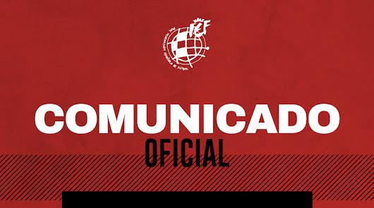La RFEF suspende los encuentros de ascenso a Tercera División.