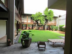 Photo: My hotel courtyard