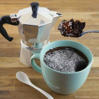 5-Minute Chocolate Espresso Lava Mug Cake