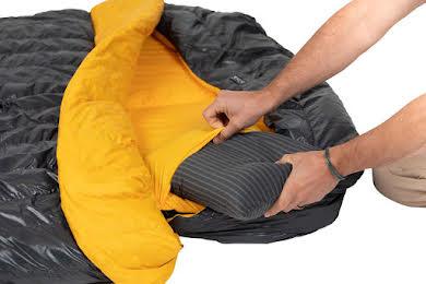 NEMO Tango Solo, 30, 650-fill DownTek Sleeping Bag/Comforter, Granite/Marigold alternate image 1