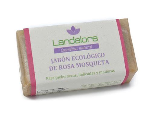 Jabón Natural Rosa Mosqueta Vegano Landalore