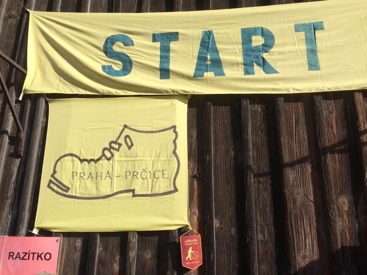 Prčice - start