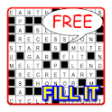 Fill-it in crosswords Puzzles icon