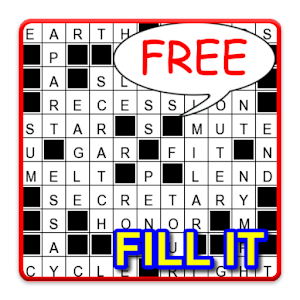 Fill-it in Puzzles English for PC and MAC