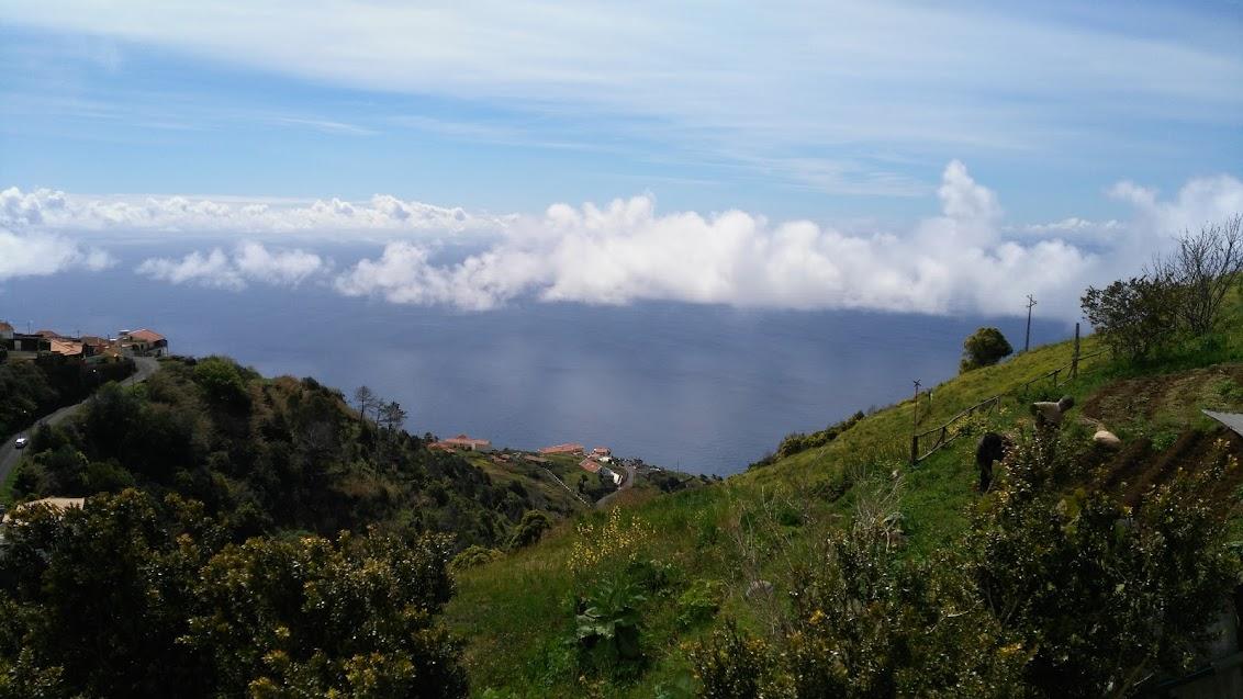 Ons adembenemend uitzicht.