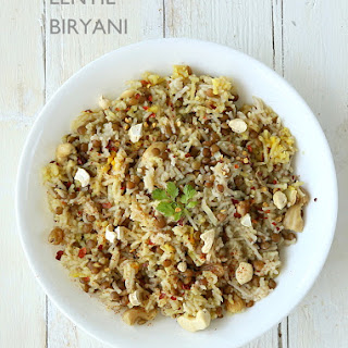 Lentil Biryani and The Great Vegan Bean Book Review.