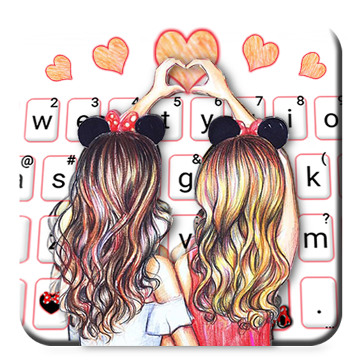 Best Friend Forever Keyboard Theme Icon