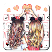 App Best Friend Forever Keyboard Theme APK for Windows Phone