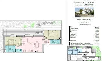 Appartement 3 pièces 64,33 m2