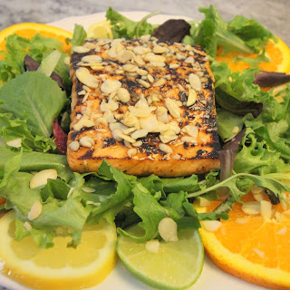 Asian Citrus Salmon Salad.