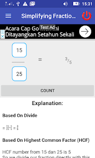 Simplifying Fraction Way