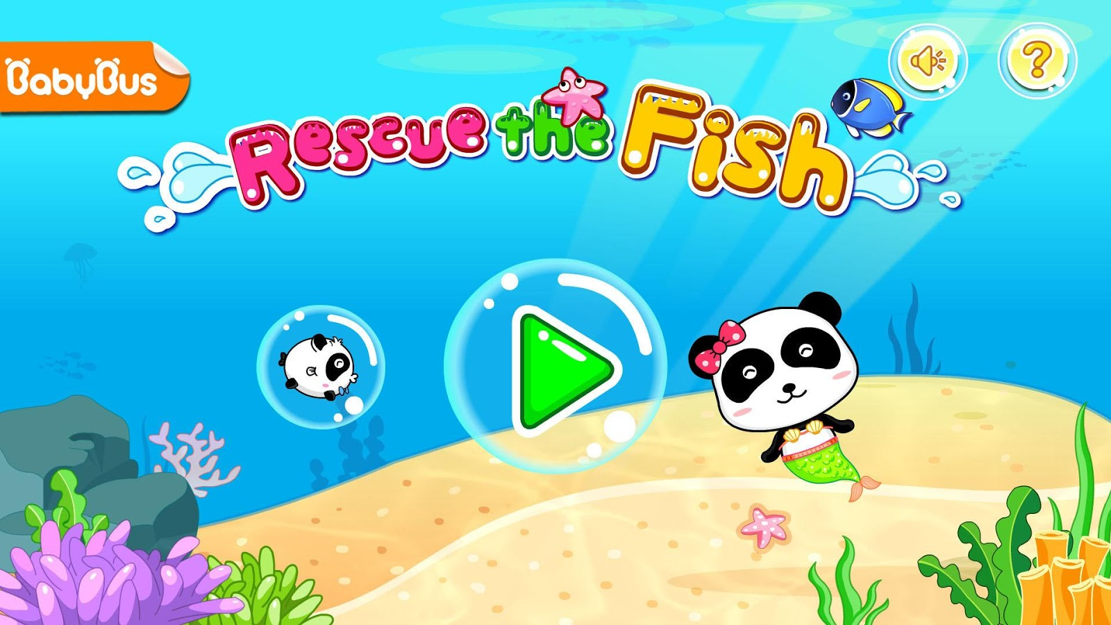 Rescue the Fish By BabyBus- screenshot